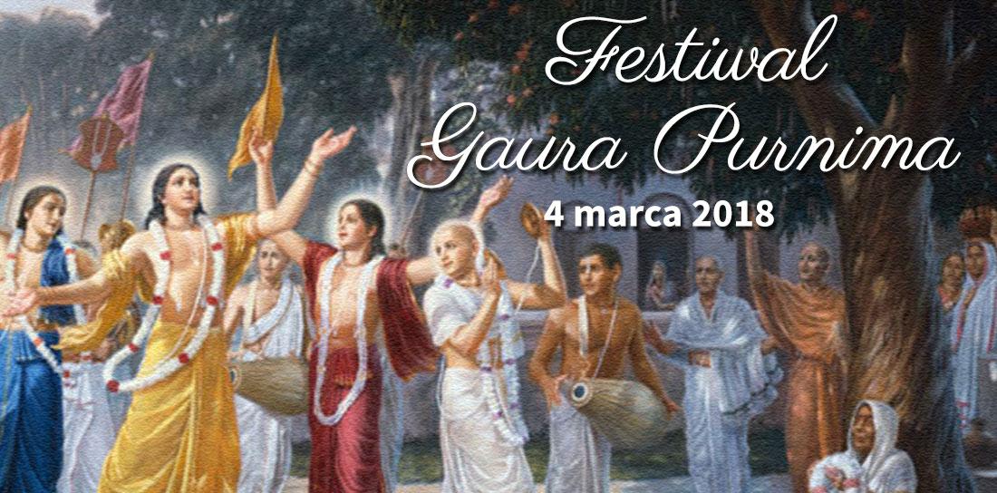 Gaura Purnima 2018